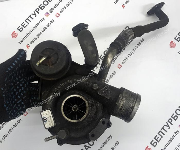 Поступивший в ремонт в плачевном состоянии турбокомпрессор 1.8, бензин для Volkswagen