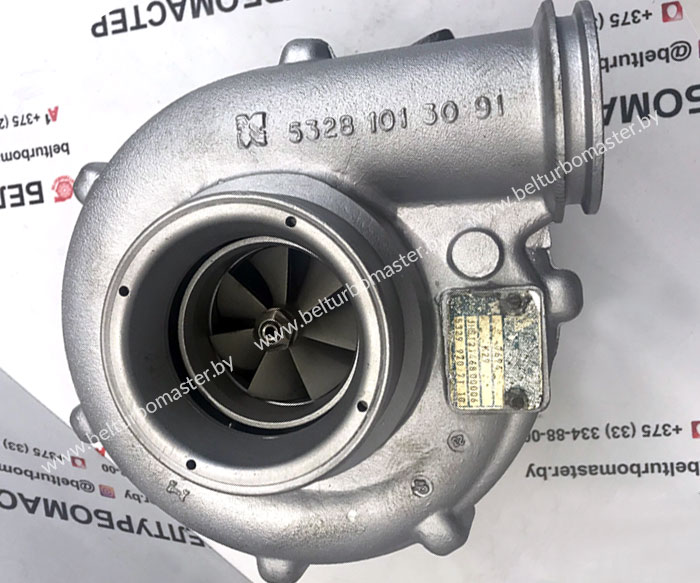 Отремонтированная турбина на MAN TGA D2066LF K29 2004+ Гарантия - 1 год.