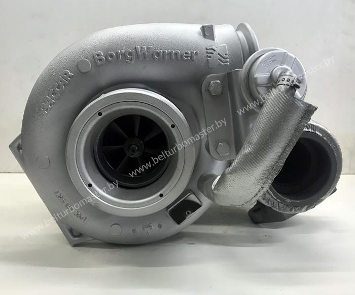 Восстановленная Турбина Borg Warner для DAF XF105. 460 сил с шубой (термоизоляцией). Гарантия - 1 год